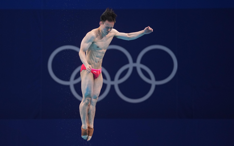 第30金!跳水男子3米板,谢思埸冠军王宗源亚军
